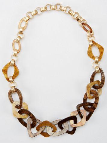 Tortoise Enameled Necklace - Image 1 of 3