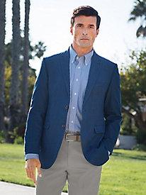 Men's Birdseye Blues Sportcoat
