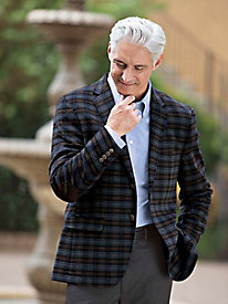 Men's Plaid Sportcoat by Norm Thompson