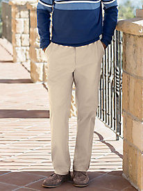 Men's Complete Comfort Stretch Twill Pants