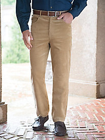 Men's 5-Pocket Stretch Pincords by Norm Thompson