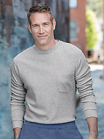 Men's Destination Knits Long-Sleeve Pocket Tee