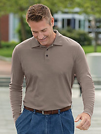 Men's Destination Knits Interlock Polo