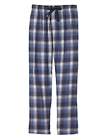 Men's IZOD Flannel Plaid Sleep Pants by Norm Thompson
