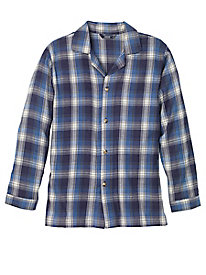 Men's IZOD Flannel Plaid Sleep Top by Norm Thompson