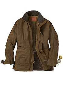Men's Waterproof Oilskin Jacket by Outback Trading Company