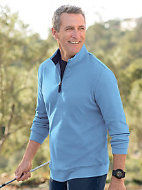 Men's Destination Knits 1/4 Zip Mockneck