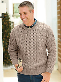 Men's Classic Irish Crewneck Sweater