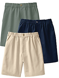 Men's Complete Comfort Stretch Twill Shorts