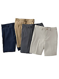 Men's Haggar Cool 18 Pro Shorts with Auto-Sizer