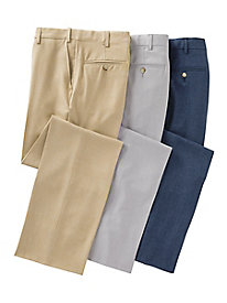 Men's MicroPoly Auto-Sizer Pants by Norm Thompson