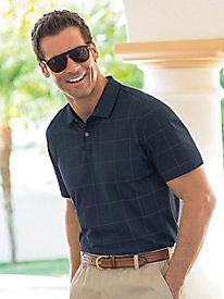 Men's Van Heusen Windowpane Polo