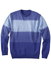 Men's Ombre Crewneck Sweater