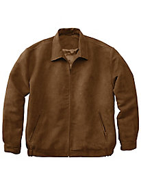 Men's Travelers Suede Golf Jacket