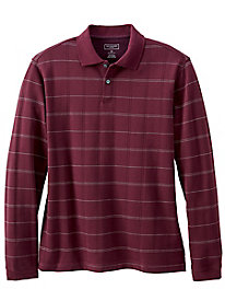 Men's Van Heusen Windowpane Polo Shirt