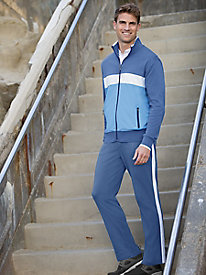 Men's Colorblock Jog Suit