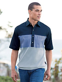 Men's Shikari Short Sleeve Blocked Shirt