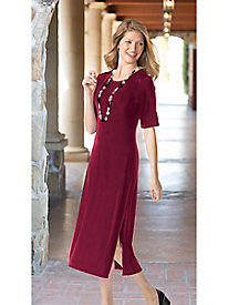 Women's Jet-Set Elbow-Sleeve Dress
