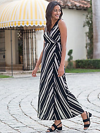 Women's Stripe It Up Maxi Dress