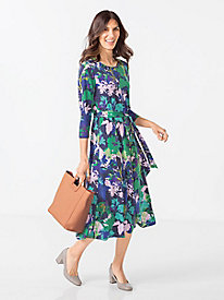 Women's Falling Leaves Dress by Norm Thompson