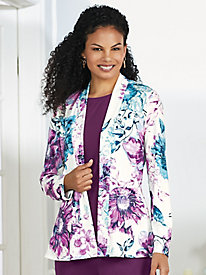 Open-Front Travel Jacket