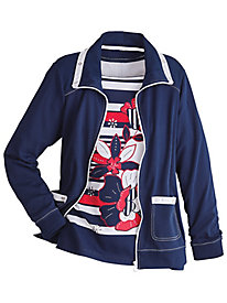 America's Cup Sailboat Jacket By Alfred Dunner®