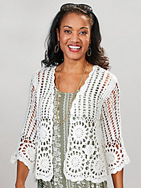 Madrid Crochet Cardigan by Skye's the Limit