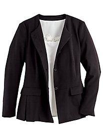 Koret® Stretch Peplum Jacket