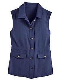 Koret® Look of Linen Vest