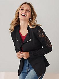 Lace Inset Jacket