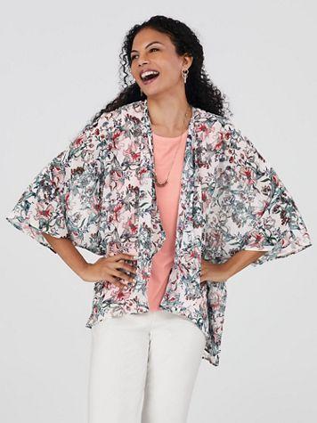 Koret® Cascade-Front Kimono