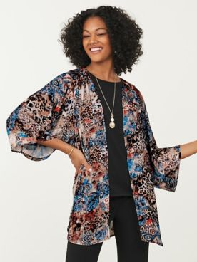 Koret® Travel Knit Kimono