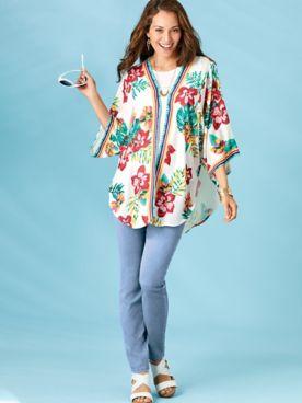 Koret® Kimono & Slim-Leg Pants