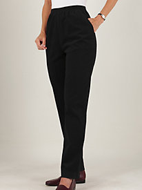 Shaped-Fit Corduroy Pants by Bend Over®