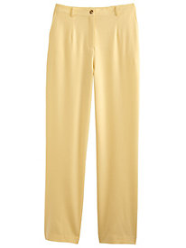 Look Of Linen Fly-Front Pants By Koret®