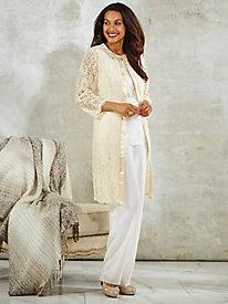 3-Pc. Lace Pants Set By Regalia®