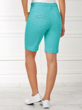 Amanda Bermuda Shorts By Gloria Vanderbilt®