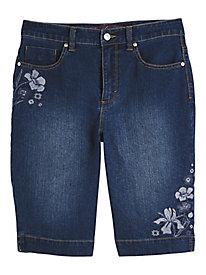 Amaryllis Bermuda Shorts by Gloria Vanderbilt®