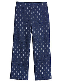 America's Cup Anchor Capris By Alfred Dunner®