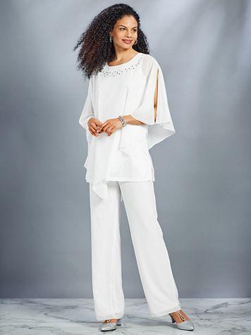 Embellished Pants Set By Koret®