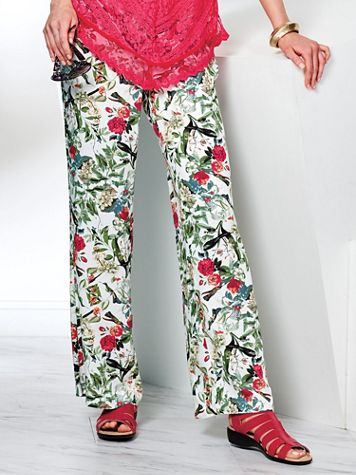 Madrid Print Pants by Skye's the Limit