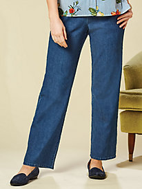 Alfred Dunner® Out of the Blue Proportioned Pants
