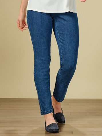 Extra Stretch Denim Pants by Ruby Rd. - Image 0 of 2