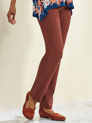 Desert Drifter Knit Twill Pants by Ruby Rd. - Image 3 of 3