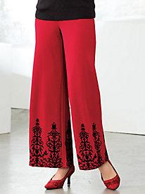 81f993cc734 4 Flocked Pants by Regalia®