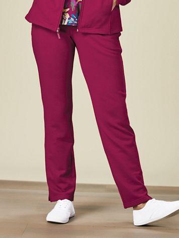 Zip-Pocket Fleece Pants - Image 4 of 4