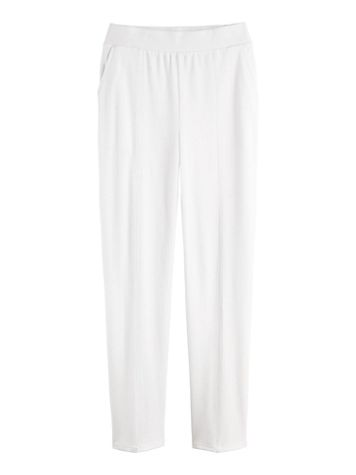 Stitched Crease Knit Pants - Image 5 of 5