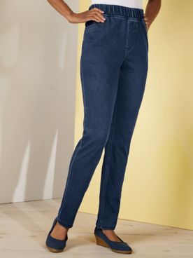 Koret® Denim Pull-On Jeans