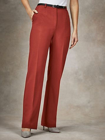 Koret® Classic Stretch Belted Pants - Image 1 of 10