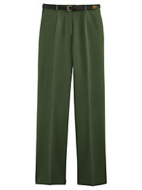 Koret® Classic Stretch Belted Pants